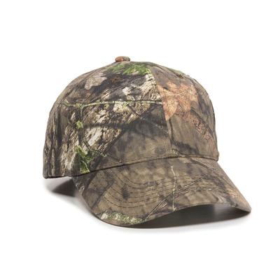 Outdoor Cap Solid Back Camo Cap