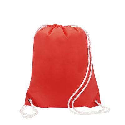 Liberty Bags White Drawstring Backpack