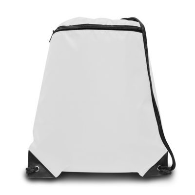 Liberty Bags Zipper Drawstring Backpack
