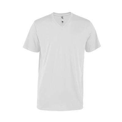 Delta Platinum Adult CVC Short Sleeve V-Neck Tee