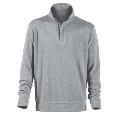 Delta Platinum Adult Interlock Jersey 1/4 Zip Pullover