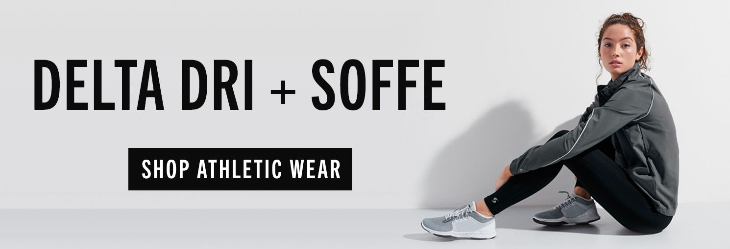 shop delte dri and soffe performance gear athletic wear for the whole family