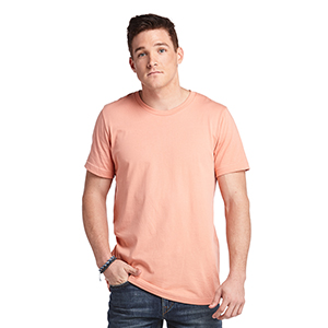 Platinum P601 100 Percent Cotton Crew Neck Blank Tee