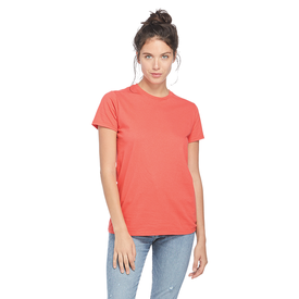 Adult 4.3 oz Softspun Semi-Fitted Tee