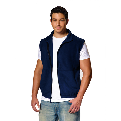 Fleece Full-Zip Vest