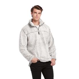 Burnside 1/4 Zip Sherpa Pullover Jacket