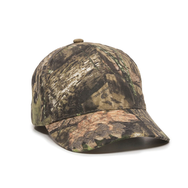 Camo Solid Back Cap