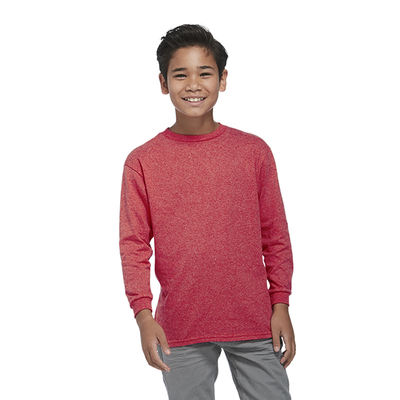 Delta Pro Weight Youth 5.2 oz Retail Fit Long Sleeve Tee