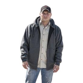 Dri Duck Crossfire Hooded Fleece Jacket