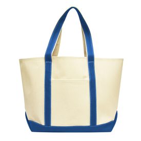 Liberty Bags Carmel Classic XL Cotton Canvas Boat Tote