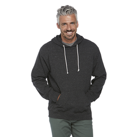 Adult Unisex Snow Heather French Terry Hoodie