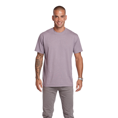 Delta Platinum Adult CVC Short Sleeve Crew Neck Tee