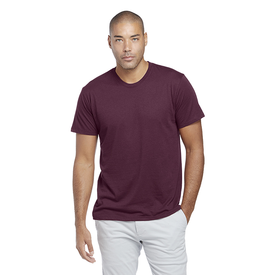 Adult CVC Short Sleeve Crew Neck Tee