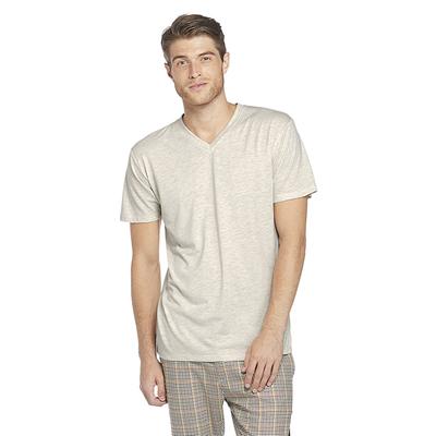 Delta Platinum Adult Tri-Blend Short Sleeve V-Neck Tee