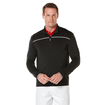 Quarter Zip Mock Pullover