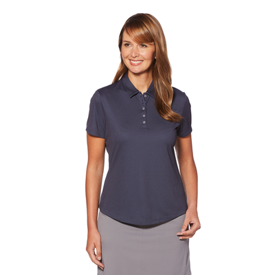 Ladies Birdseye Polo