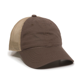 Outdoor Cap Garment Washed Trucker Cap