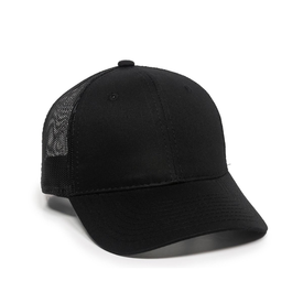 Cotton Twill Mesh Back Cap