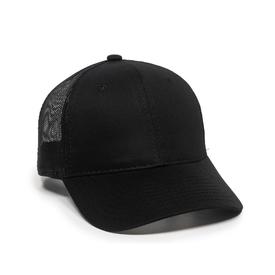 Outdoor Cap Mid Crown Mesh Back Cap