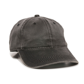 Outdoor Cap Weathered Cotton Solid Back Cap