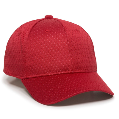 Jersey Mesh Solid Back Cap