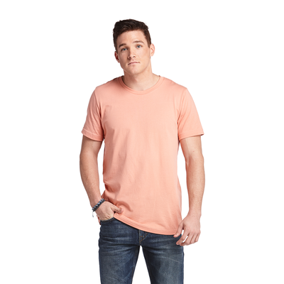 Delta Platinum Adult 100% Cotton Short Sleeve Crew Neck Tee