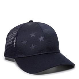 Debossed American Flag Cap